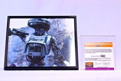L3-37 Droid Character from Star Was 'Solo' Film Autograph