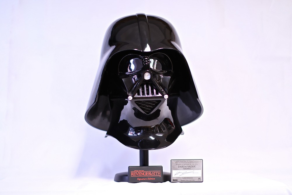 Star Wars Episode 3 Darth Vader Helmet Master Replica Signature Series Retro Toy Planet