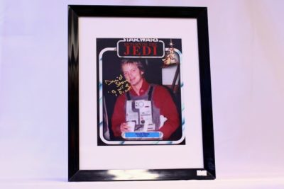 Star Wars Actor 'Dave Stone' Autograph